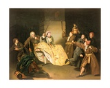 "David Garrick as Sir John Brute in Vanbrugh's ""The Provok'd Wife"" Giclee Print by Johann Zoffany"