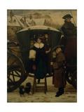 Grandmama's Christmas Visitors Giclee Print by George Adolphus Storey