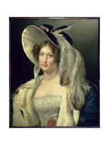 Victoria May Louise, Duchess of Kent (1786-1861), C.1830-40 Giclee Print by George Henry Harlow