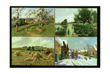 The Four Seasons Giclee Print by Arthur Walker Redgate