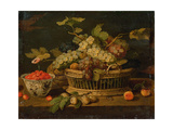 Still Life with Fruit Giclee Print by Jan Van, The Elder Kessel
