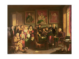 The Paternity Suit Giclee Print by Edward Villiers Rippingille