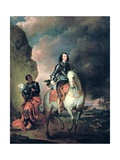 Portrait of Oliver Cromwell (1599-1658) Giclee Print by Thomas Wyck