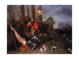 An Allegory of War with Vincenzo Gonzaga I (D.1612) Giclee Print by David III Ryckaert