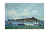 View of Hong Kong, C.1860 Giclee Print by  Tinqua