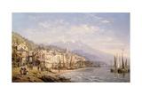 Memories of Palermo Giclee Print by Charles Euphrasie Kuwasseg