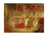 The Death of Caesar Giclee Print by Vincenzo Camuccini