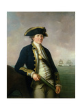 Captain Charles Morice Pole, 1781 Giclee Print by John Francis Rigaud
