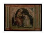 Act of Forgiveness, after Giotto, C.1450 Giclee Print by Nicolo & Stefano Da Ferrara Miretto