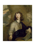Portrait of a Man Thought to Be the Artist, C.1645 Giclee Print by William Dobson