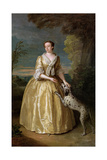 Portrait of Lady Jenkinson, 1742 Giclee Print by Philippe Mercier
