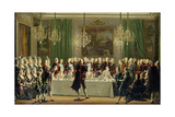 Stockholm Palace, New Year's Eve 1779 Giclee Print by Pehr Hillestrom