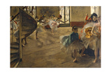 The Rehearsal, C.1877 Giclee Print by Edgar Degas