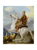 An Oriental Warrior Giclee Print by Alexander Orlowski