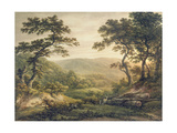 Needlewood Forest, Hampshire Giclee Print by John Glover