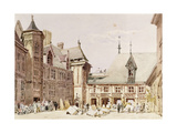 Jacques Coeur's House at Bourges, Cher, France Giclee Print by Charles Claude Pyne