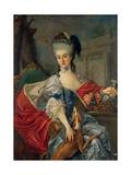 Portrait of Izabela Lubomirska, 1757 Giclee Print by Marcello Bacciarelli