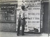 Bill Poster-Man, London, 1894 Photographic Print by Paul Martin