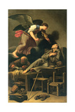 The Ecstasy of St. Francis Giclee Print by Carlo Saraceni