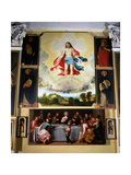 The Holy Trinity Giclee Print by Lorenzo Lotto