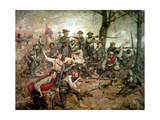 Holding the Line at All Hazards, C.1868 Giclee Print by William Gilbert Gaul