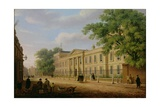 View of Emmanuel College, Cambridge University Giclee Print by Richard Bankes Harraden