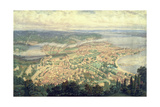 Southampton in the Year 1856 Giclee Print by Philip Brannon