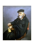 Portrait of an Old Man Giclee Print by Giovanni Battista Moroni