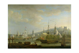 View of Bristol Harbour Showing the Cathedral, 1785 Giclee Print by Nicholas Pocock