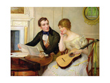 Musical Interlude Giclee Print by Delapoer Downing