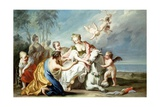 The Rape of Europa Giclee Print by Jacopo Amigoni