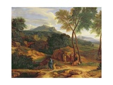 Landscape with Conopion Carrying the Ashes of Phocion Giclee Print by Jean-François Millet