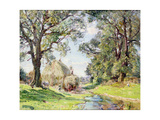 Surrey Landscape Giclee Print by Edmund George Warren