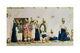T650 a Wedding Dance at Guaduas, Colombia, 1834 Giclee Print by Joseph Brown