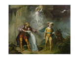 Scene from 'The Tempest', C.1790 Giclee Print by William Hamilton