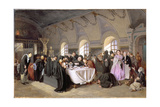 The Refectory, 1865-76 Giclee Print by Vasili Grigorevich Perov