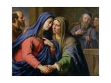 The Visitation Giclee Print by Philippe De Champaigne