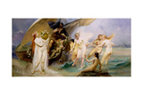 The Sirens Giclee Print by Edouard Veith