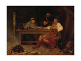 For Better or Worse - Rob Roy and the Baillie, 1886 Giclee Print by John Watson Nicol