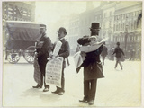 Newspaper Vendors, Ludgate Circus, 1893 Photographic Print by Paul Martin