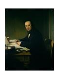 Isambard Kingdom Brunel (1806-59) Giclee Print by John Callcott Horsley