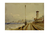 View of the Atmospheric Railway at Dawlish Giclee Print by Nicholas Condy