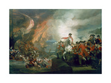 The Defeat of the Floating Batteries at Gibraltar, September 1782, 1783-91 Giclee Print by John Singleton Copley