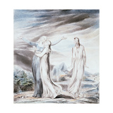 Ruth Parting from Naomi, 1803 Giclee Print by William Blake