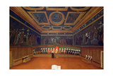 The Room of the Council of Ten, Doges' Palace, Venice Giclee Print by Gabriele Bella