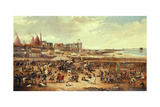 Leith Races Giclee Print by William Reed