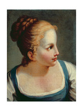 Head of a Young Girl Giclee Print by Benedetto Luti