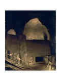 Falun Copper Mine Giclee Print by Pehr Hillestrom