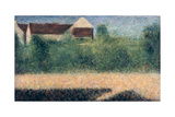 Houses and Gardens Giclee Print by Georges Pierre Seurat