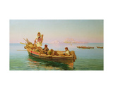 South Italian Fishing Scene Giclee Print by Pietro Barucci
